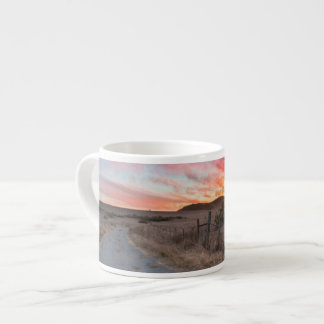 First Sunset of the Day Espresso Cup
