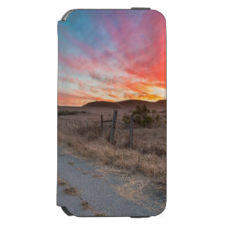 First Sunset of the Day iPhone 6/6s Wallet Case