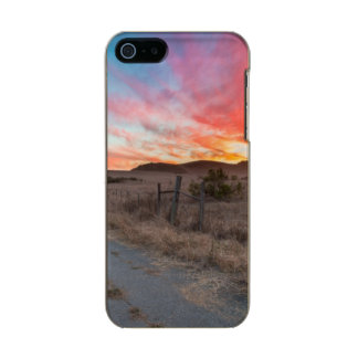 First Sunset of the Day Metallic Phone Case For iPhone SE/5/5s