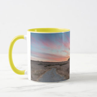 First Sunset of the Day Mug