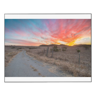 First Sunset of the Day Wood Wall Art