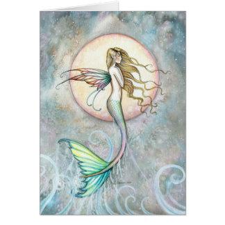 First Taste of Sky Leaping Mermaid Card