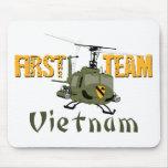 First Team Vietnam Gunship Mouse Pad