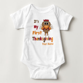First Thanksgiving Baby T-Shirt