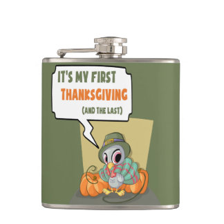 First Thanksgiving Flask