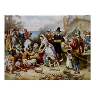 First Thanksgiving Poster