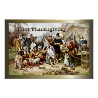 First Thanksgiving Posters