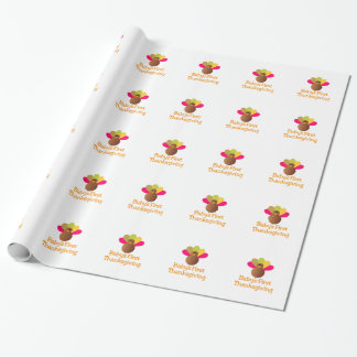 First Thanksgiving Wrapping Paper