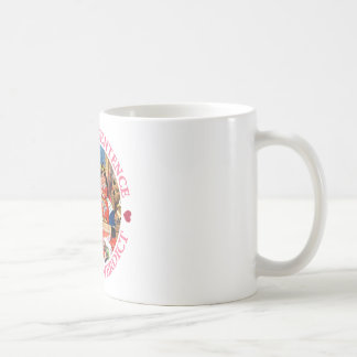 FIRST THE SENTENCE, THEN THE VERDICT, COFFEE MUG