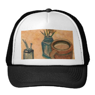 First Thing in the Morning CricketDiane Coffee Art Trucker Hat