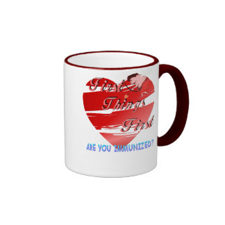 First Things First Valentines  Mug