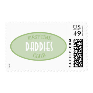 First Time Daddies Club (Green) Stamp