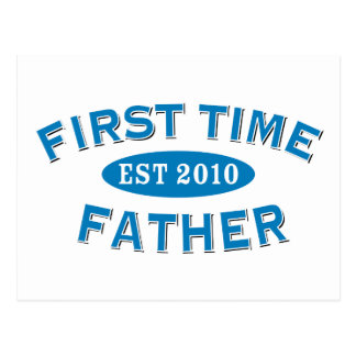 First Time Father 2010 Postcard
