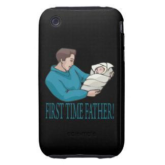 First Time Father iPhone 3 Tough Cases