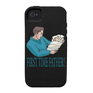 First Time Father Vibe iPhone 4 Cases