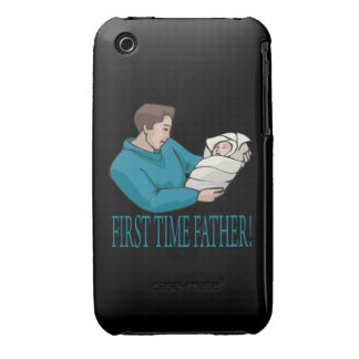 First Time Father Case-Mate iPhone 3 Cases