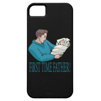 First Time Father iPhone 5 Cases