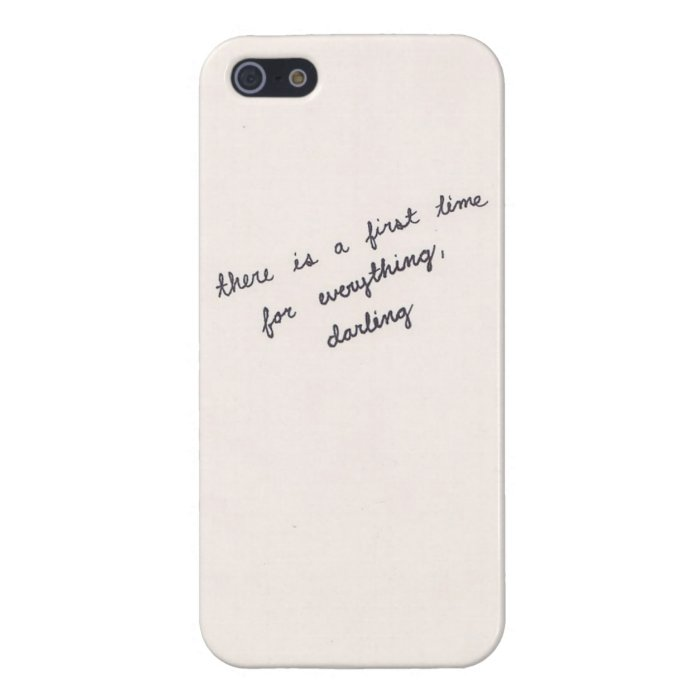 First Time For Everything IPhone Case