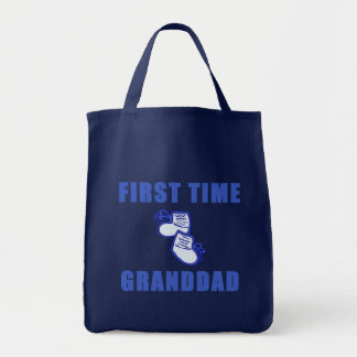 First Time Granddad Tshirts and Gifts Bag