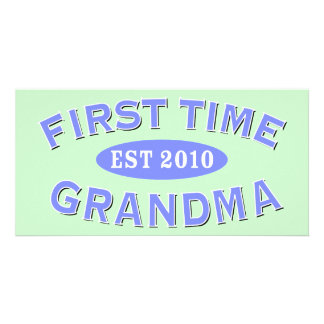 First Time Grandma 2010 Card