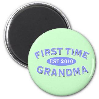 First Time Grandma 2010 Magnet