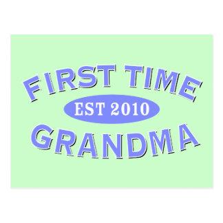 First Time Grandma 2010 Postcard