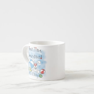 First Time Grandma of Boy Gifts Espresso Mugs