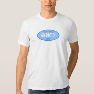 First Time Grandmas Club (Blue) T-shirt