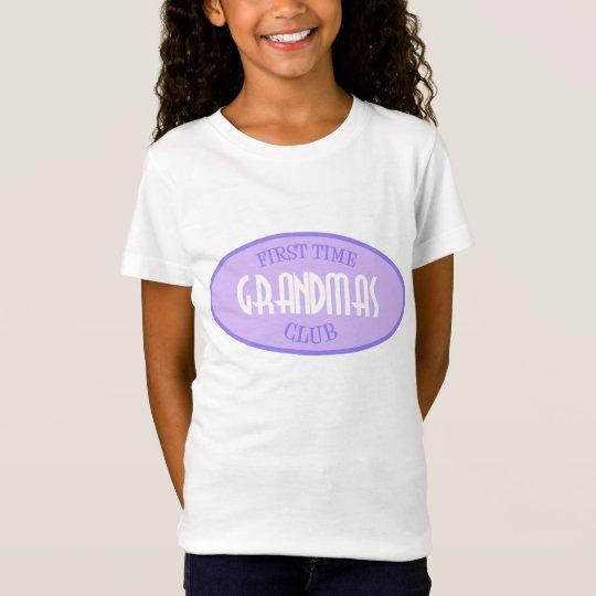 First Time Grandmas Club (Purple) T-Shirt