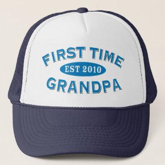 First Time Grandpa Trucker Hat