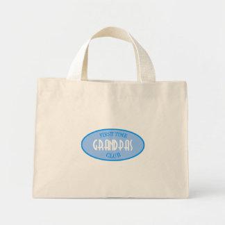 First Time Grandpas Club (Blue) Mini Tote Bag