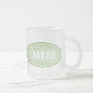 First Time Grandpas Club (Green) Coffee Mugs