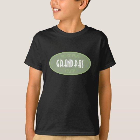 First Time Grandpas Club (Green) T-Shirt