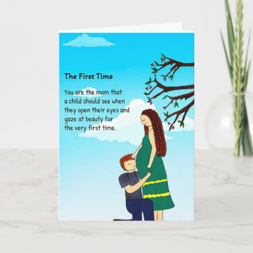 First Time Greeting Card