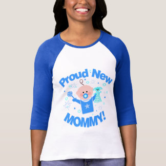 First Time Mom of Baby Boy T-Shirt