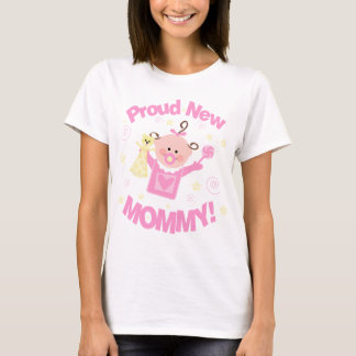 First Time Mom of Baby Girl T-Shirt