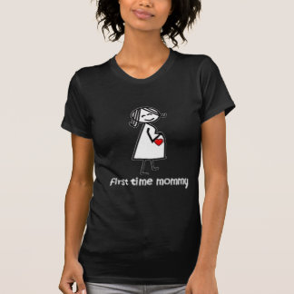 First Time Mommy - Lt T-Shirt