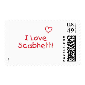 First Time Spaghetti Postage Stamp
