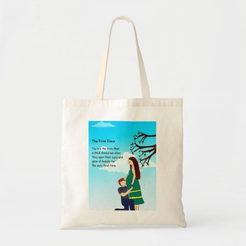 First Time Tote Bag