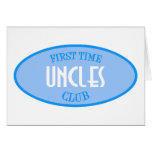 First Time Uncles Club (Blue) Cards