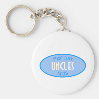 First Time Uncles Club (Blue) Keychain