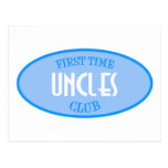 First Time Uncles Club (Blue) Postcards