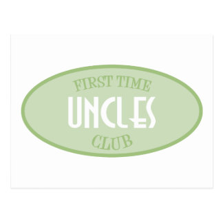 First Time Uncles Club (Green) Postcard