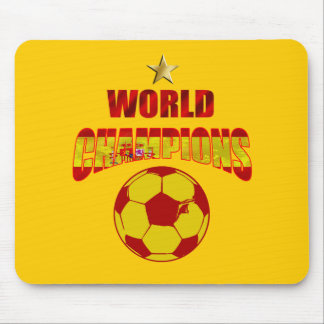 First time world champions Spain Mouse Pad
