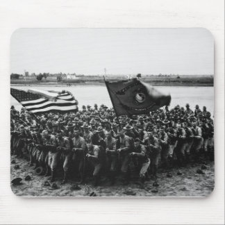 First to Fight A group of World War I Marines Mouse Pad