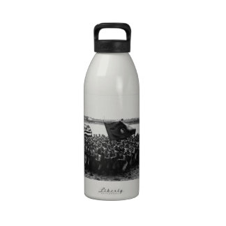 First to Fight A group of World War I Marines Water Bottles