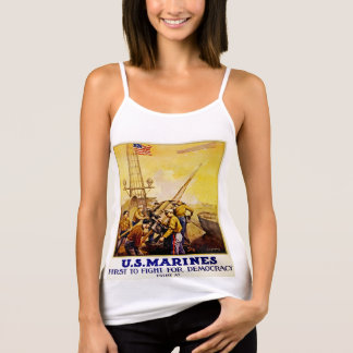 First to Fight for Democracy Tank Top