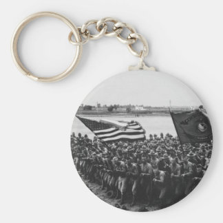 First to Fight United States Marine Corps 1918 Keychains
