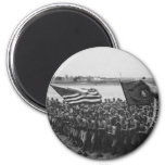 First to Fight - US Marines - 1918 2 Inch Round Magnet