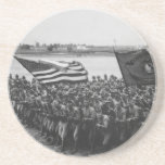 First to Fight - US Marines - 1918 Coaster